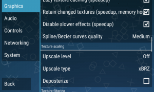 best settings of PPSSPP