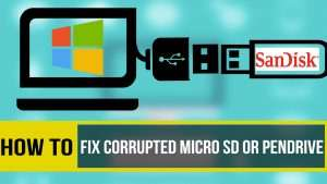 How to repair your corrupt memory card and pendrive