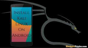 install kali linux on android