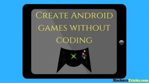 How to create Android games without coding