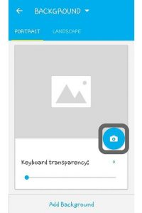add your own Photo in Android Keyboard