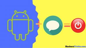 turn off android by sending sms