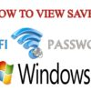 How to Find Saved WiFi Password in PC [Full Guide]
