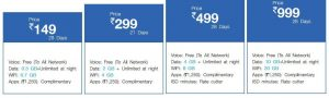 jio unlimited free voice calls for lifetime