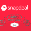 Get Discount Upto 90% On The Snapdeal New Year Sale [Amazing Deals]