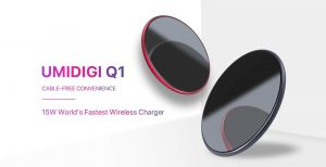 Full Specification World's Fastest Wireless Charger UMIDIGI Q1 Announced!