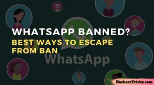 unban whatsapp