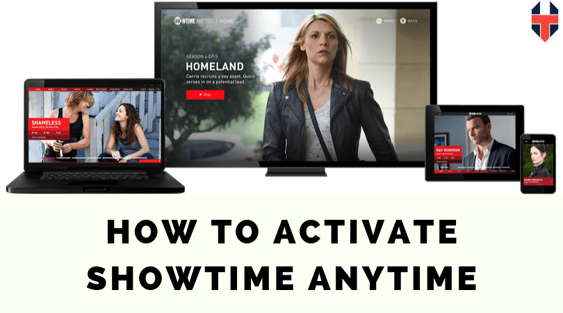 how to activate showtime anytime
